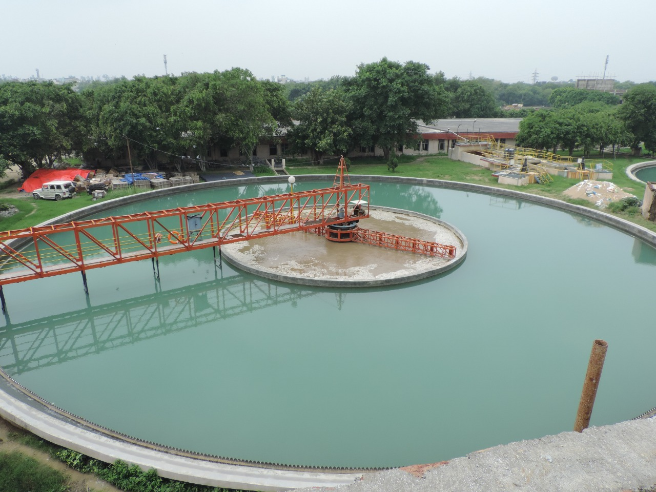 Nangloi Water Service   Swach Water Treatment Plant